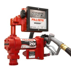 fill-rite pump with meter